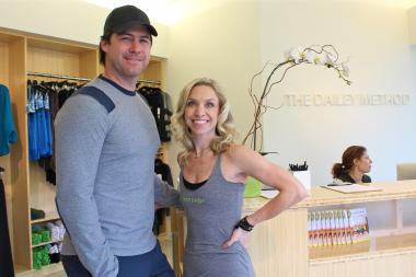 The Dailey Method opened a Lincoln Park location of it's fitness studio this past weekend.