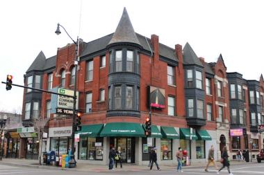 The building at the corner of Belmont Ave. and North Broadway in east Lakeview was recently sold to investor Mansoor Ahmed. One day, he'd like to attract national retailers.