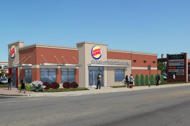 Community members are uneasy about a Burger King magnate's hopes to build a drive-through restaurant.