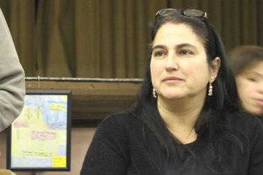 Carmen Mendoza's contract was renewed for another four years as principal of McPherson Elementary.