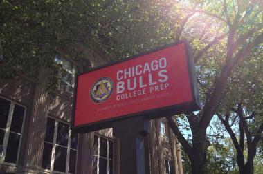 Chicago Bulls College Prep was launched in 2009 with the help of $2 million from Jerry Reinsdorf, according to the Chicago Teachers Union.