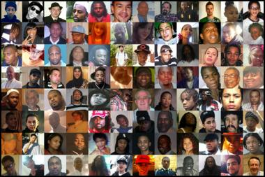 DNAinfo.com Chicago tells the stories of the people slain during the city's bloody 2012.