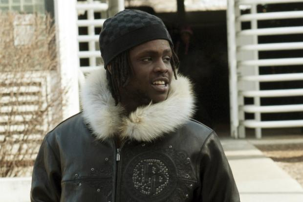 Chief Keef, whose real name is Keith Cozart, appeared in Cook County Juvenile Court Tuesday.