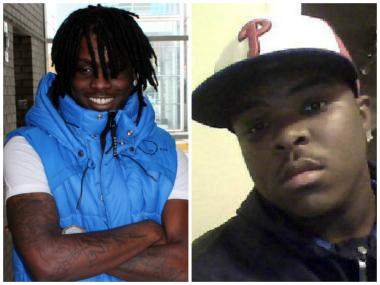 Rapper Chief Keef, aka Keith Cozart (l.), tweeted his last respects to his stepbrother, Ulysses Gissendanner, slain Jan. 2 on the Far South Side.