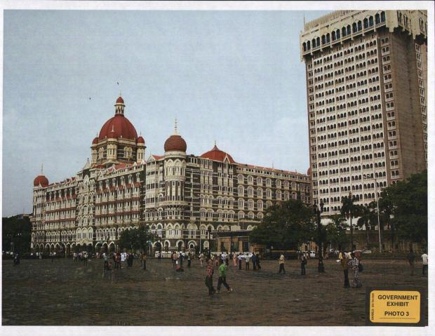 Photos taken by terrorist David Headley while doing reconnaissance for a terrorist group before the Mumbai attacks in 2008.