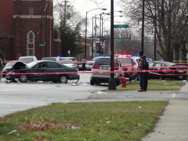 Car Accident: Car Accident Chicago 2013