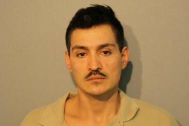 Gregorio Carmona, 35, is charged with first-degree murder and aggravated arson in the Albany Park fire that led to the death of 36-year-old Claudia Martinez and injured their 6-year-old daughter.