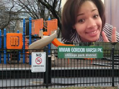 Hadiya Pendleton, 15, was fatally shot Tuesday in Vivian Gordon Harsh Park on the South Side.