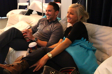 Adam Shealy and Brittany Bussell cured their NYE hangovers with IVs and bags of fluid.