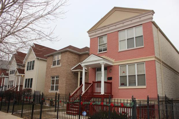 Bernard Place is a 70-unit, affordable housing development in the Englewood community on the South Side.