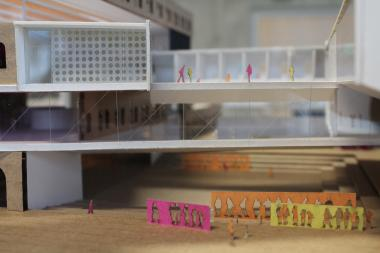 Illinois Institute of Technology students designed models for a pretend textile warehouse in Pilsen. Their models will be shown on Saturday at the La Casa center at 1659 W. 18 th  St.