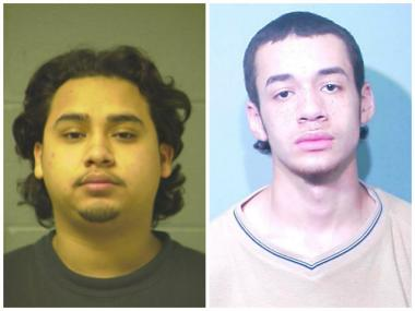 Gage Park teens Jose Guerra, 19, left, and Estevan Rosario, 17, were charged in connection with a Dec. 14 shooting and armed robbery that left a man seriously injured.