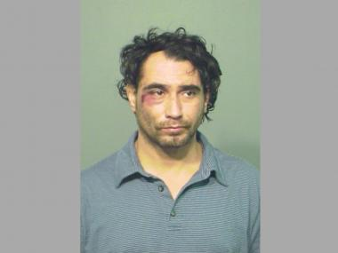 Jose Rodriguez was charged with armed robbery after he was subdued by a pair of men in Lincoln Park.