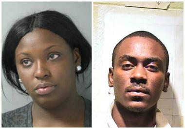 Kimberly Harris (left) was set to testify against Demarius Bridges (right) after she allegedly witnessed him killing her boyfriend. She was later murdered, allegedly by Bridges.