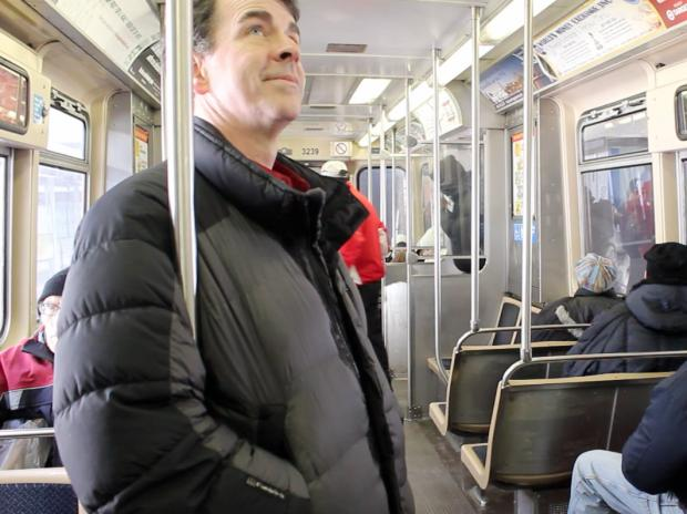 The man behind the voice of Chicago's public transit system is a Milwaukee-based voiceover actor.