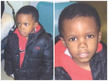 This 3 -year-old child was found running down a sidewalk in the 7200 block of South Hermitage Avenue in West Englewood. Police said they found the boy's mother Tuesday morning.