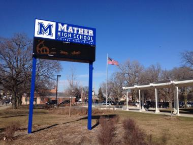 Mather High School in West Ridge is among four area schools to experience a change to their school hours for the upcoming year.