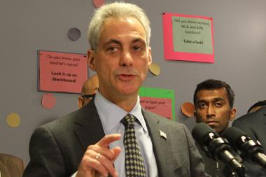 Mayor Rahm Emanuel said he'd make the 60-day reprieve from parking meter increases 60 years if he could.