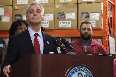 Mayor Rahm Emanuel said Chicago gun control is only as good as it is at the state and federal level, but wouldn't extend that to making an endorsement in the 2nd Congressional District race.