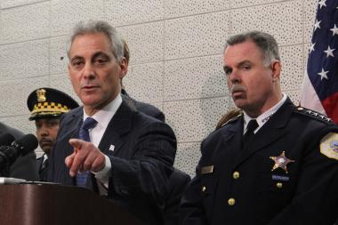 Mayor Rahm Emanuel and Superintendent Garry McCarthy prepared to reassign 200 Chicago Police officers back onto the streets Thursday.