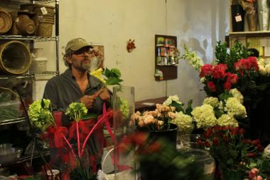 Mike Rothermel retired from Cornell Florist after 25 years and said he won't go back to his old acting career.