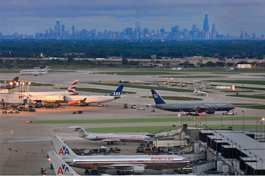 Changes to the traffic pattern at O'Hare International Airport may send more noisy jets over the city's Northwest Side neighborhoods