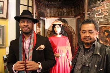 Tailor Sherman Brown and Pilsen Vintage and Thrift owner Paul Gazar are creating a new space for higher quality vintage men's fashion.