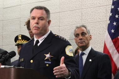 Backed by Mayor Rahm Emanuel, Chicago Police Supt. Garry McCarthy asked for continued community involvement in finding Hadiya Pendleton's killer.