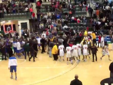 "Simeon basketball coach Robert Smith and Morgan Park coach Nick Irvin have been suspended for ""unprofessional conduct"" at a game between the schools Jan. 16. A scuffle broke out between players in the handshake line."