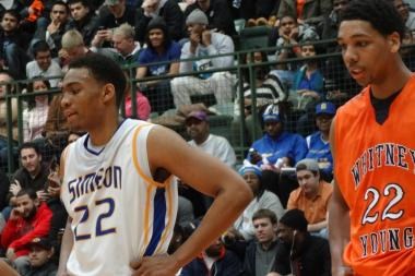 Jabari Parker of Simeon and Whitney Young's Jahlil Okafor faced off in January, but not in the city title game last month after Simeon was derailed by Morgan Park in the semis.