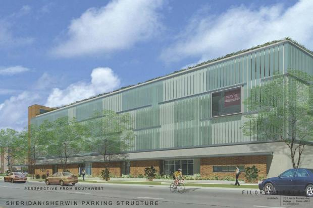 Col. James Pritzker wants to build a four-story parking facility where a Buddhist meditation center now sits.