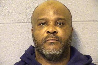 Tony Cooley, 46, was arrested by Shakespeare District cops  around 9 p.m. Friday on the 1600 block of N. Paulina Ave. after he allegedly struck a 31-year-old woman in the lip and snatched her purse just two blocks north, on the 1800 block of N. Paulina St.