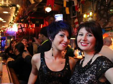 Revelers welcome in 2013 with celebrations across the city.