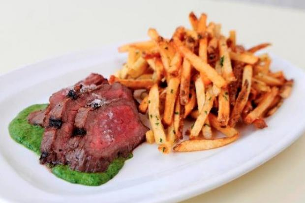 Grass Fed at 1721 N. Damen Ave. in Bucktown appears to be the only restaurant in the area celebrating Meat Week, which runs Jan. 27-Feb. 3.  The Bucktown restaurant usually only has a $25 prixe fixe sirloin steak on its menu, but in honor of Meat Week, has been offering a $35 12-ounce New York strip steak dinner through Feb. 3.  Two new cocktails also were introduced during Meat Week.