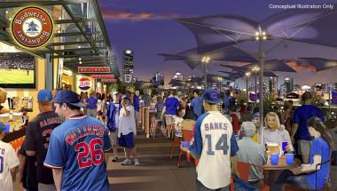 Better bathrooms, more concessions and a bar under the scoreboard are among the plans included in a $300 million renovation project the Cubs announced Jan. 19, 2013, at the Cubs Convention.