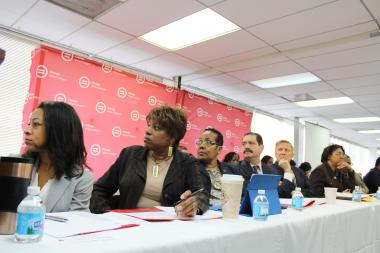 At an Urban League forum, elected officials review statistics that show more than 94 percent of Black teens in households earning less than $40,000 a year are unemployed.