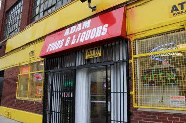 Loiterers outside Adam Foods and Liquors, 219 S. Western Ave., have been a sore point for neighborhood residents.