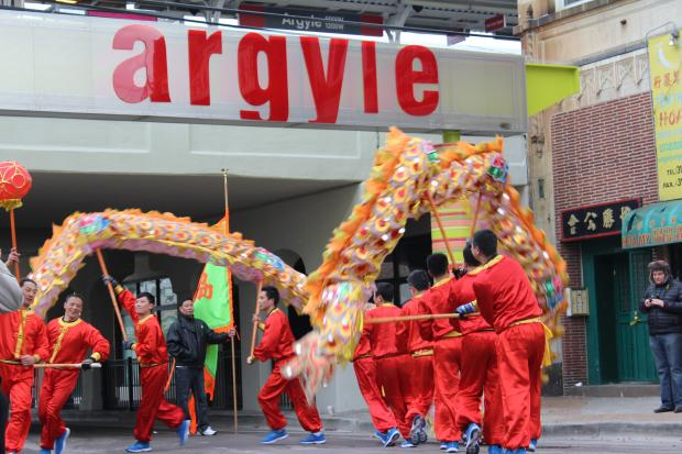 The Asian Lunar New Year Parade was held on Feb. 16, 2013.