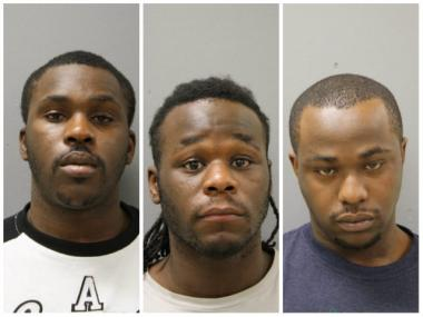 Aziz Animashaun (left), 22, Isiaka Animashaun (middle), 25, and Taiwo Animashaun (right), 26, were charged with aggravated criminal assault and kidnapping in connection with a crime police said happened on Dec. 21.