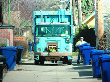 Starting Jan. 1, recycleables must be placed loose in blue carts, Streets & Sanitation announced.