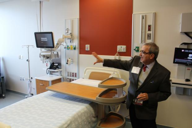 The University of Chicago's Center for Care and Discovery is set to open 240 new patient rooms on the South Side on Saturday.