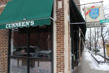 Cunneen's Bar, 1424 W. Devon Ave., has been a neighborhood institution for 40 years.