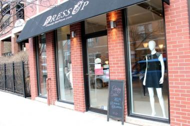 Dress Up Boutique at 1937 N. Damen Ave. is closing by the end of February after a near three-year run in Bucktown. Items are marked to a little as $5 for jewelry and up to 70 percent off on jeans and tops.