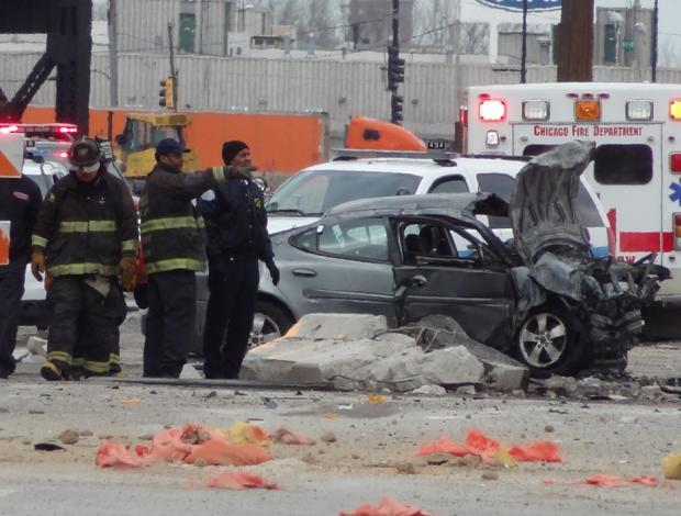 Car Accident: Car Accident 2013 Chicago