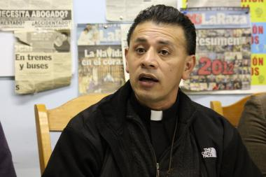 On Wednesday, the Rev. Jose Landaverde announced plans for his Little Village congegration to fast and march next week.