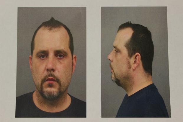 Jason Logsdon, 41, of Evanston was charged with 11 counts of armed robbery.
