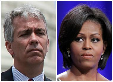 Former U.S. Rep. Joe Walsh took to Twitter to criticize first lady Michelle Obama for her decision to attend Hadiya Pendleton's funeral.