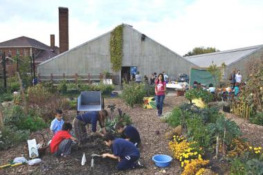 The city is chipping in with $350,000 for a new roof for the Kilbourn Park Organic Greenhouse.