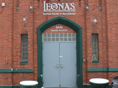 Leon Toia, CEO of Leona's Restaurants, said the company's headquarters and commissary at 3931 S. Leavitt St. is for sale.