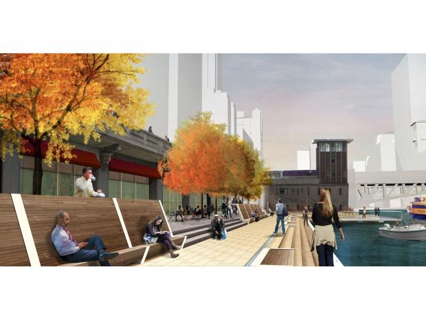 Chicago's riverwalk is getting a facelift from Lake Street to State Street.